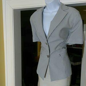 Larry Levine short sleeve blazer